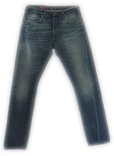 Levi's Vintage Clothing Jeans 501 1966 Chiaro con Rotture Vest. Regolare (W34L32)