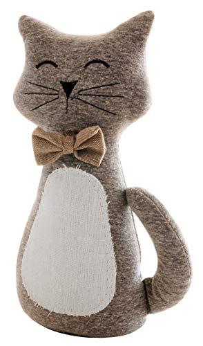 khevga Tope de puerta peluche gato 31cm de altura