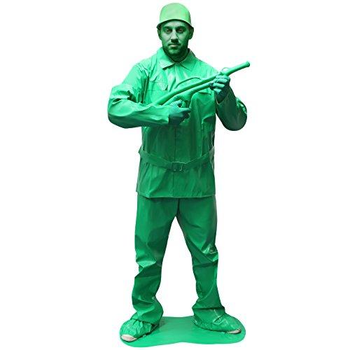 Morphsuits MCCUOSOLL - Costume da soldatino, L, Verde
