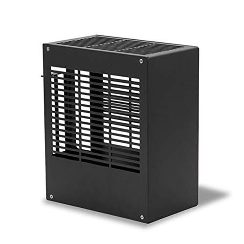 Obokidly SGPC K39V2 Mini ITX A4 PC Case All Full Aluminum Mini Tower HTPC Small Chassis Gaming Computer Case (K39v2, Black)