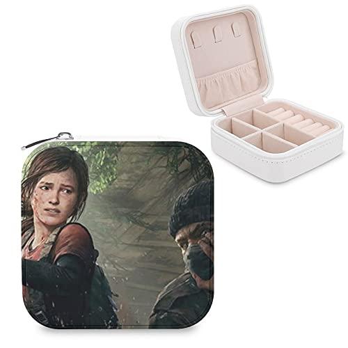 Caja de almacenamiento pequeña de viaje adecuada para mujeres, niñas, novias