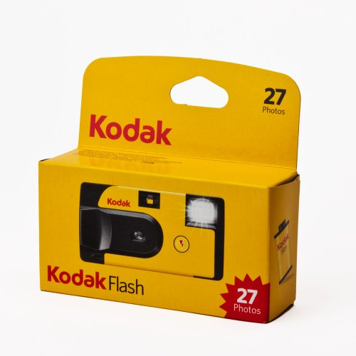 Kodak Fun Saver with flash and ISO 800 27 Exposures
