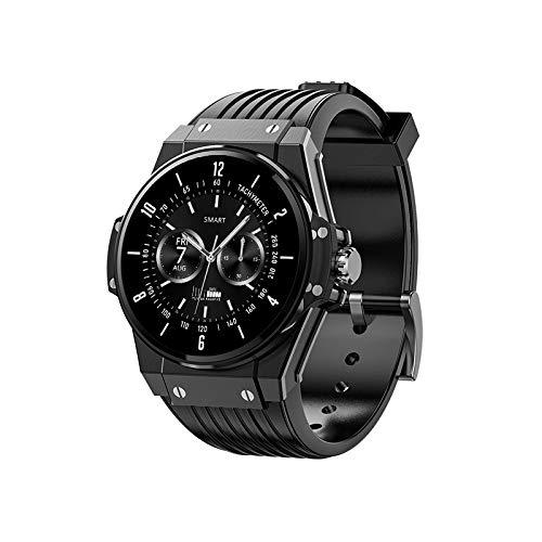 TMG Smartwatch, Reloj Inteligente hombre con Pulsómetro, relojes inteligentes hombre, Monitor de Sueño, Podómetro Monitores de Actividad Impermeable IP68 smartwatch hombre, Reloj Deportivo para Android iOS