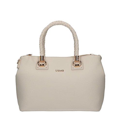 Liu Jo Manhattan shopping bag white