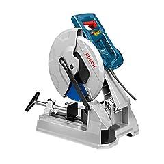 Bosch Professionnel Scie métallique GCD 12 JL (1500 min-1 régime de ralenti, 20 kg, y compris 1 lame de scie circulaire pour acier, en carton)