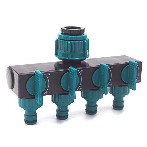 "MINO67-1/2"" 3/4"" 1"" 4-way Water Hose Connectors Garden 4-way Tap Hose Splitter Garden Tools Tap Splitter Connectors"