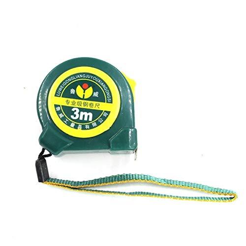 JHM Messhandwerkzeuge LW004 Industrial Grade ABS Kunststoff Anti-Fall Durable Office Haushaltsstahl Maßband, Länge: 3m Maßband