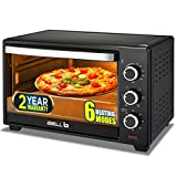 iBELL EO19LG 1500 Watts Electric Oven Toaster and Grill, OTG, 19 Liter (Black)