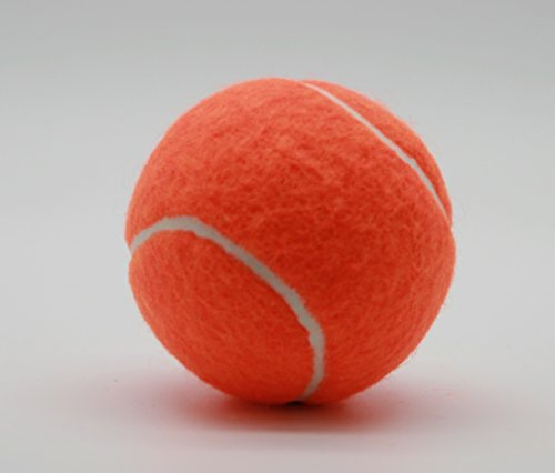 Price Tube Tennisbälle, Typ 2, hergestellt in Großbritannien, Orange, 1 x 3 Orange balls
