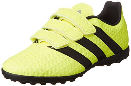 adidas Ace 16.4 Tf J H&l - Botas de entrenamiento de fútbol para niños, color Amarillo (Amasol / Negbas / Plamet), talla 37 1/3 EU