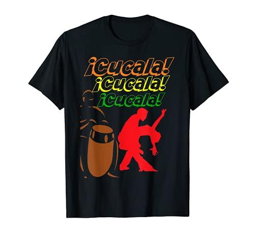 Cucala Celia Cruz Salsa Baile Conguero Camiseta