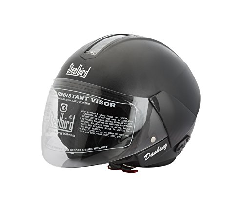 Steelbird Sb-35 Dashing Black Helmet