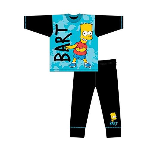 Simpsons - Pijama para niños (4 a 10 años) multicolor 4-5 Años