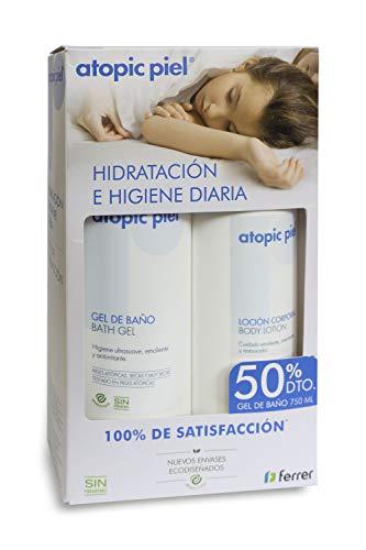 Atopic Piel Eco Loción 500ml + Gel Baño 750ml 50% - 1350 ml (201681)