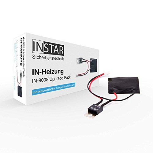 INSTAR uppvärmning för IP-kamera IN-9008 Full HD – uppvärmningsmodul – tilläggsvärme – automatisk temperaturstyrning – uppgraderingspaket – för uppgradering