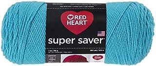Red HeartSuper Saver Yarn, Turqua - 1
