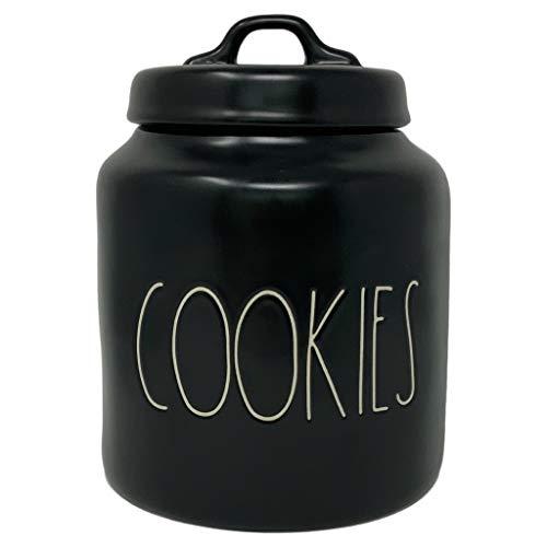 red and black cookie jar - 7