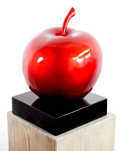 Kunst & Ambiente Acquistare Blancanieves Manzana–Fibra de Vidrio Escultura–de Martin Klein–Modelado–Arte Moderna Acquistare