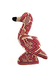 flamingo themed gifts ~ huichol art
