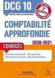 DCG 10 Comptabilité approfondie - Corrigés - 2020-2021 (2020-2021)