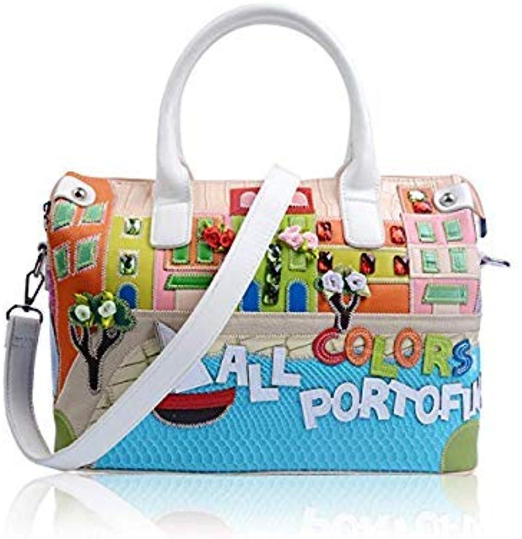 Bloomerang Super Quality Women Handbag Shoulder Bag Tote Braccialini Handbag Sac A Main Borse Di Marca Bolsa Feminina Luxury Handbags color Apricot
