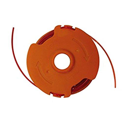 WORX WA0008 grastrimmer draad voor de WORX grastrimmer WG118E & WG119E – duurzame reservedraad spoel met 2 x 5 m lengte & 1,65 mm Ø diameter