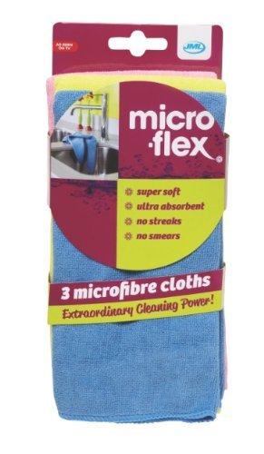 Micro-Flex Microfiber Cloths- 3 Pack