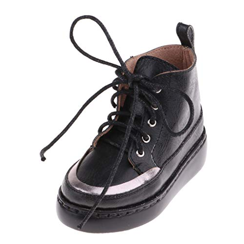 F Fityle Zapatos de Cuero PU Fashion Accesorios para Muñecas Chicas BJD...
