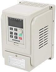 Inversor de frecuencia CA 220 V 4 kW VFD monofásico universal regulador de velocidad inversor motor 1 fase para 3 motores