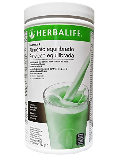 HERBALIFE Formula 1 Shake 550 gr. (choose flavor) (Mint Chocolate)