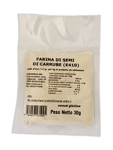 Farina Di Semi Di Carrube - Addensante Stabilizzante Emulsionante Gelificante Per Dolci Gelati (30 GR)