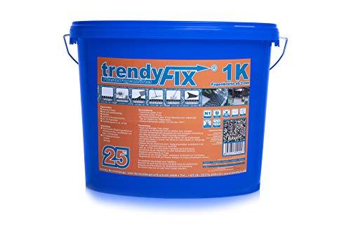 1K Pflasterfugenmörtel trendyFIX für unkrautfreie Fugen - 25 kg (Basalt)
