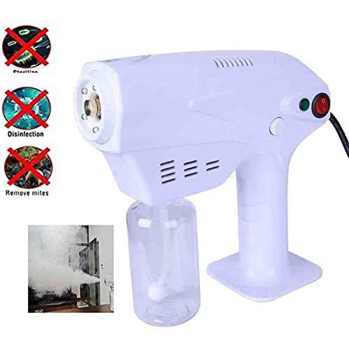 260ML Nano Steam Stérilisation Pistolet Portable Machine À Fumée, Ultra Fine Atomisation Pulvérisateur pour Salon Personnel Ménage Désinfection