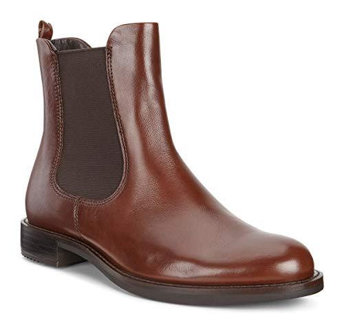Ecco Damen Shape 25 Chelsea Boots, Braun (MINK1014), 41 EU