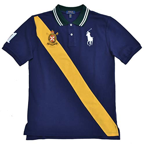Ralph Lauren - Polo para Chico, Color Azul y Amarillo