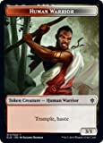 Magic: The Gathering - Human Warrior Token - Throne of Eldraine