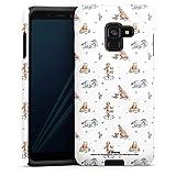 DeinDesign Coque Compatible avec Samsung Galaxy A8 (2018) Coque renforcée Coque Antichoc Winnie...