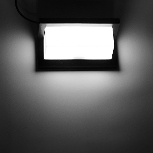 DeeCozy Wandleuchte,Wasserdichte 15W Eckleuchte LED Lampen 6000K Weiß Beleuchtung Wandspots,Wandleuchten,Leselampen,Bildbeleuchtung für Eckgartenweg Treppen (15W-Kühles Weiß)