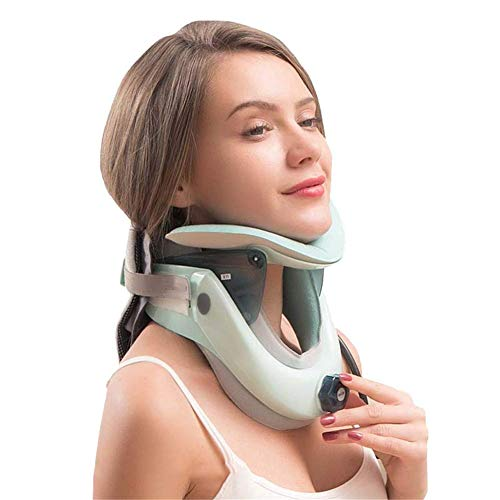 Neck Pain Relief, Portable Cervical Traction Neck Massagers Stretching Head Correction Support Relaxing Neck Pain for Man Women