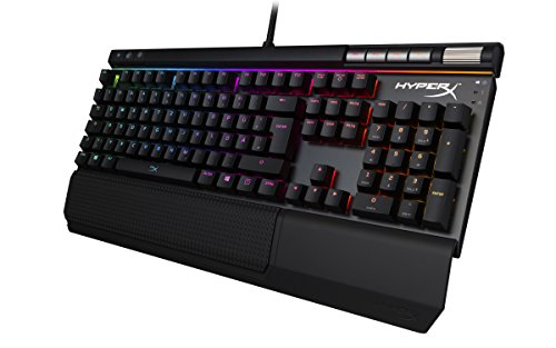 HyperX HX-KB2BR2-DE Alloy Elite RGB Mechanische Gaming Tastatur, Cherry MX Brown (QWERTZ deutsches Layout)
