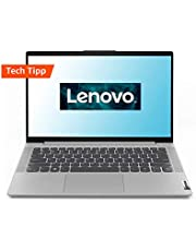 Lenovo IdeaPad 5 Laptop 35,6 cm (14 Zoll, 1920x1080, FHD, IPS, matt) Slim Notebook (AMD Ryzen 5 4500U, 8GB RAM, 512 GB SSD, AMD Radeon Grafik, Windows 10 Home) silber