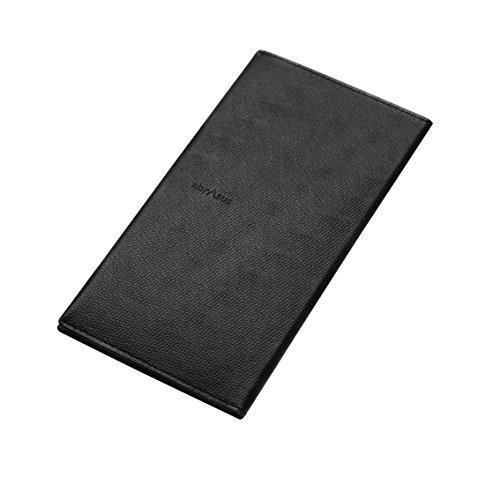 薄い長財布 abrAsus (アブラサス) ブラック