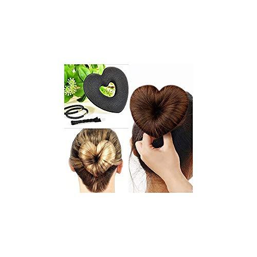 Trade Shop - 11631 Chignon Forme Cœur 5 Fourches 2 Coiffes Cheveux Coiffure Hairagami