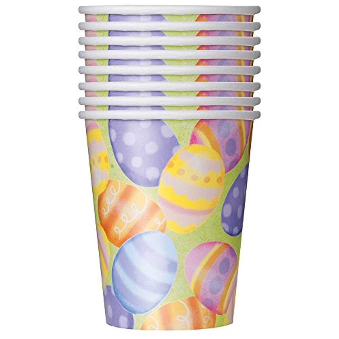 9oz Spring Easter Party Cups, 8ct