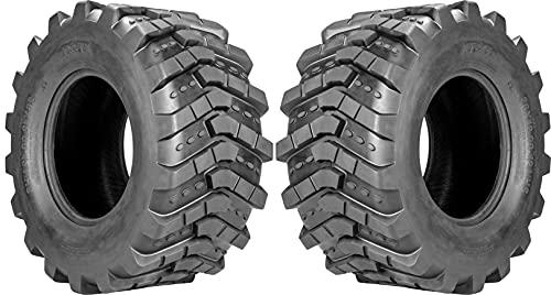Pair of XT-41 Heavy Duty Lug Traction Tires (18x8.50-10)