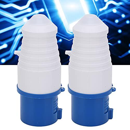 Enchufe de alimentación industrial, 16 A, 3 orificios, enchufe industrial monofásico a prueba de explosiones para alimentación industrial para conexiones industriales