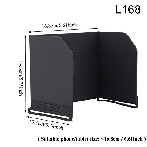 JKHK Foldable Smartphone iPads Tablets Monitor Sunshade for Drone Controller Sun Hood for DJI Mavic Air Phantom 3 4