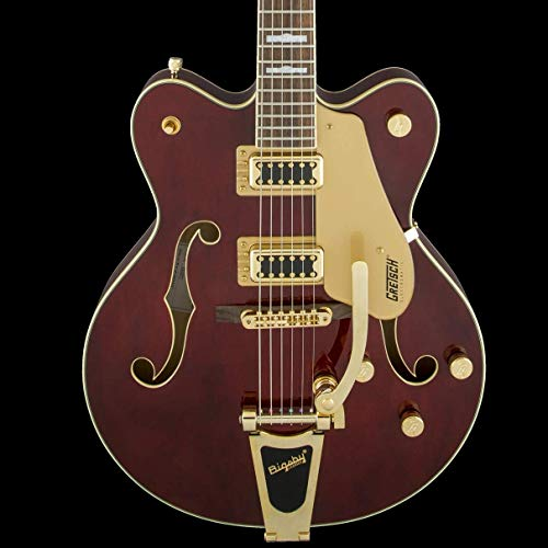 Gretsch Guitars G5422TG Electromatic Double Cutaway Hollowbody Electric Guitar Walnut Stain