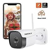SMTALY C2 Caméra de Surveillance Caméra IP WiFi Caméra Extérieur 1080P Caméra Sécurité...
