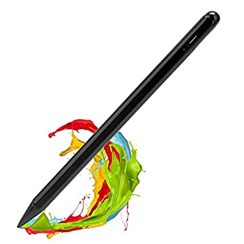 2021 iPad Pro 11 Inch Stylus Pencil 2nd Generation,,Palm Rejection and Magnetic with 1.2 mm Replaceable POM Tip Active Stylus Pen for Apple iPad Pro 11 Inch 3rd Gen Pencil,Black